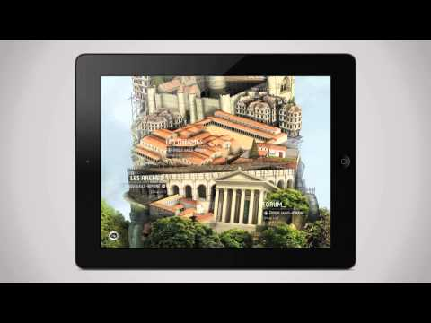 PARIS 3D Experience - iPad app preview