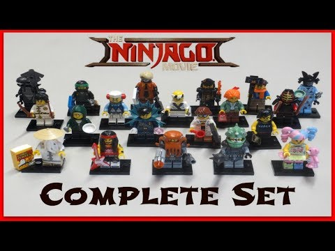 Ninjago LEGO Movie Minifigures - Full Set & Bump Codes!