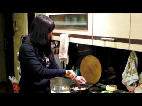 """Эспресс-""""паста"""" с курицей в томатном соусе: питание на массу"""