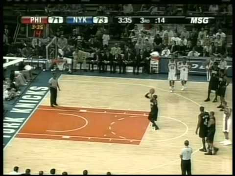 Allen Iverson 47 pts,9 ast, season 2006, 76ers vs knicks