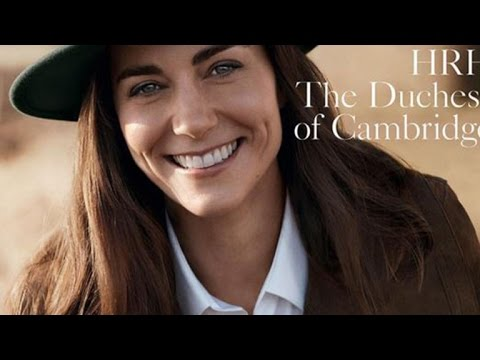 Kate Middleton Glows on the Cover of British Vogue's 100th Edition -- See The Pics!