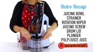 Using Your Retro Juicer