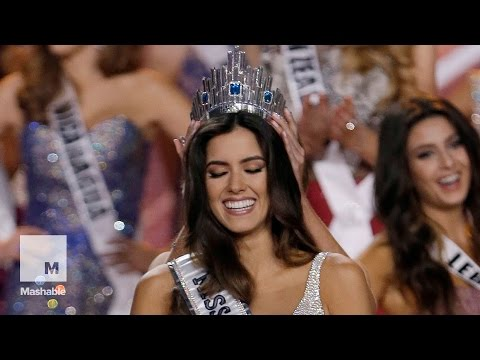 See the new Miss Universe get her crown  | Mashable