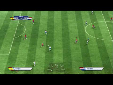 FIFA 2010 WORLD CUP FINALS - SPAIN VS HOLLAND 1ST HALF