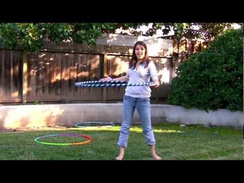 Learn To Hoop Dance - Waist Hooping Tutorial video