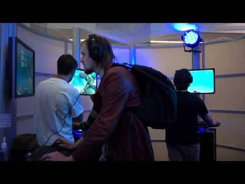 Subnautica PAX East 2014 Booth Tour