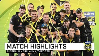 A series whitewash as Warner leads the way, again  Third Gillette T20I
