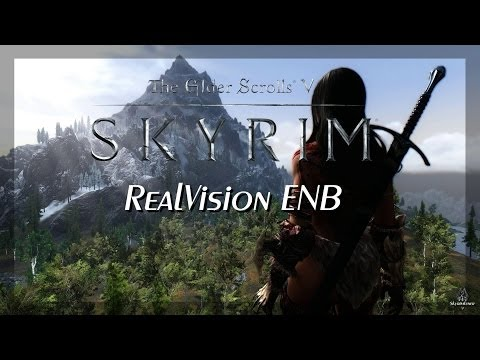 TES Skyrim - Next Gen Graphics #1 - RealVision ENB [ PC   HD+ ]
