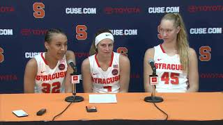 Players vs Towson Postgame