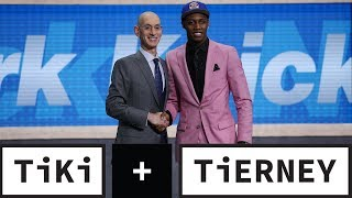 The NBA Draft Was IMPOSSIBLE To Follow | Tiki + Tierney