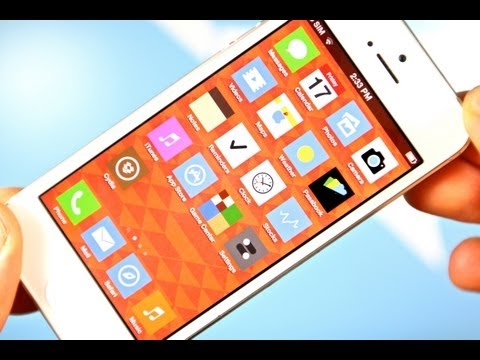 iOS 7 Preview - Get A Sneak Peak Of iOS 7 With FlatIcons Theme