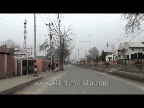 Travelling to Srinagar city