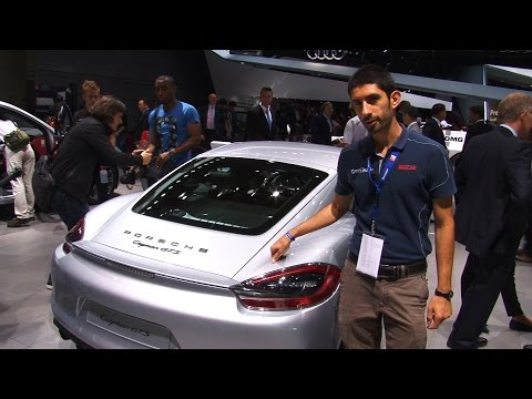 Porsche Cayenne restyling al Salone di Parigi 2014
