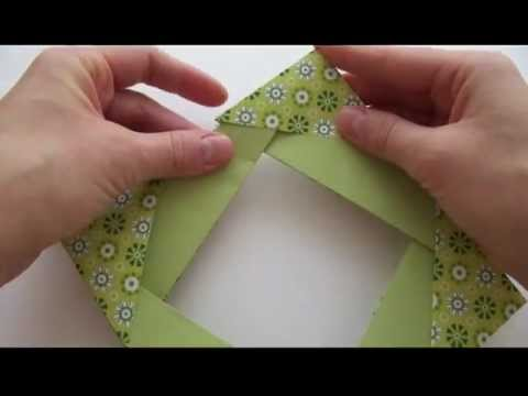 Оригами рамка схема - Оригами