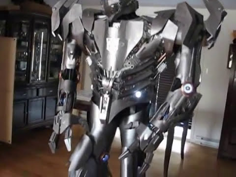 transformers/ robot advanced costume