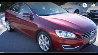 2016 Volvo S60 T5 AWD Walkaround, Start up, Tour and Overview