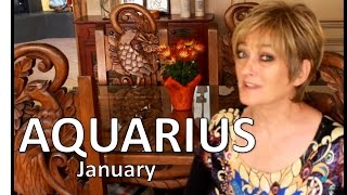 AQUARIUS January 2017 ASTROLOGY - HOROSCOPE - Awesome Start of Your Year!