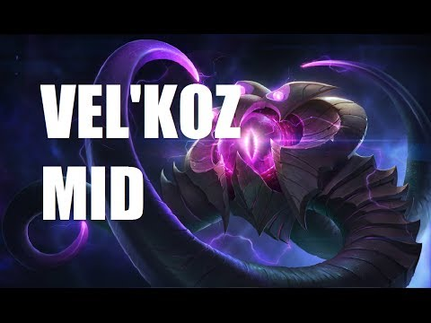 League of Legends - Vel'koz Mid - Full Game Commentary