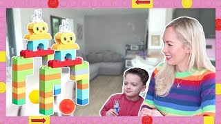 Fun & Easy Play Activity for Preschool Kids w/ Emily Norris!🏌️ LEGO DUPLO