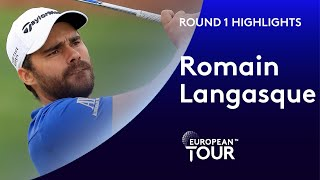 Romain Langasque shoots 6 under par | Round 1 Highlights | 2020 AFRASIA BANK Mauritius Open