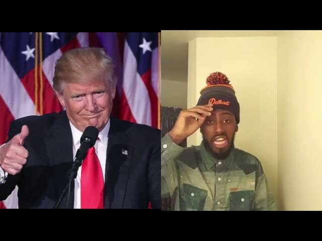 Comedian Jj Kebeto Funny Comedy about Donald Trump