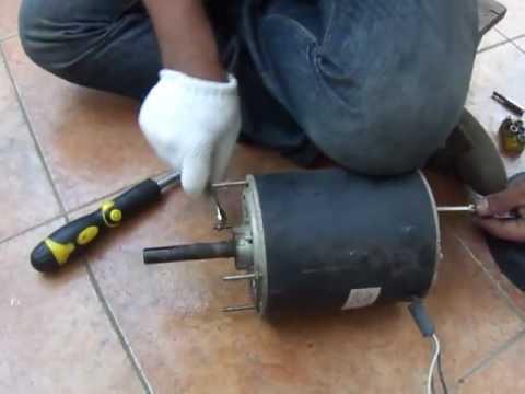 วิธีซ่อมมอเตอร์แอร์ 081-550-9992 ตอนที่ 1