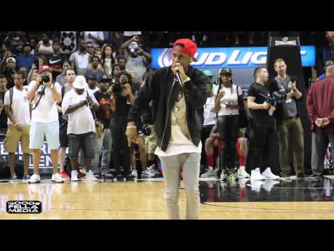 EBC Celeb Basketball Game Recap: Interview w/French Montana, Performance by Big Sean & Everything Else