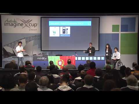 Imagine Cup 2012 - Finalist Presentations: Team wi-GO, Portugal