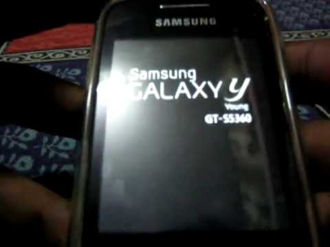 How to root samsung galaxy y (tutorial)