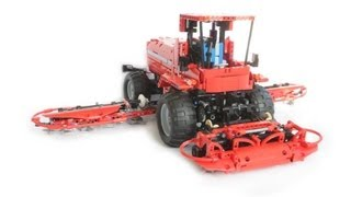Lego Technic self-propelled grass mower