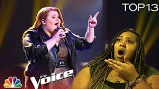The Voice Live Top 13 | Makenzie Thomas did JHud Justice | Reaction