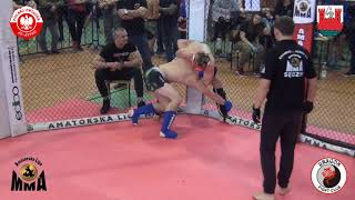 MP MMA 2018 Junior 77 kg Wiśniewski K vs Kaczmarski J