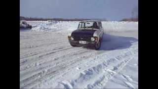 Moskvich 412 winter fun 1