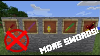 More Swords in Only One Command (Minecraft 1.9 15w49b)