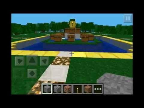 Minecraft Pe - Hunger Games/Survival Games Map! Made By Devansurf!