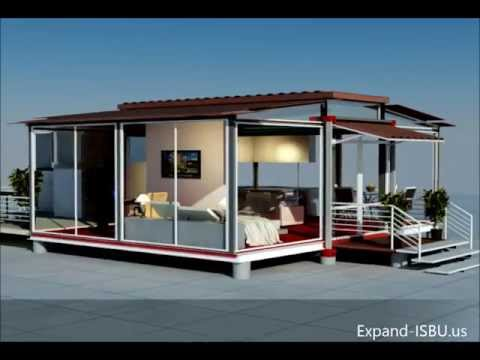 Mobile home - EBS block-expandable building system block