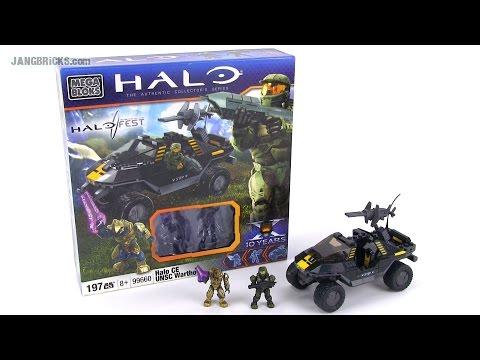 Mega Bloks Halo CE PAX Exclusive Warthog set 99660 review!