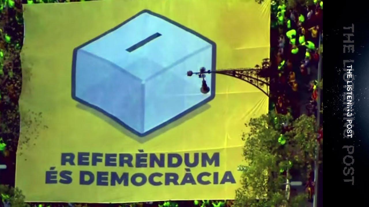Madrid vs Barcelona: Covering Catalonia's referendum - The Listening Post (Lead)