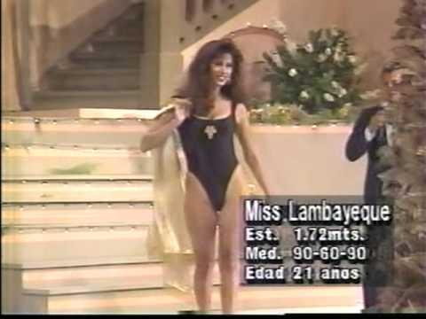 MISS PERU 1994 Traje de baño ( 2 / 3 )