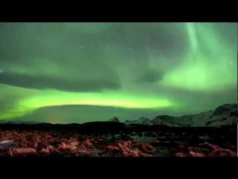 Amazing Northern Lights Timelapse in Iceland