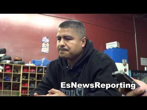 robert garcia on knowing oscar de la hoya since they were 12 years old EsNews Boxing