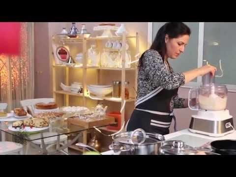 Cuisine marocaine - Choumicha : Gâteau renversé aux poires (VA)الطبخ المغربي-  شميشة : حلوى بالإجاص