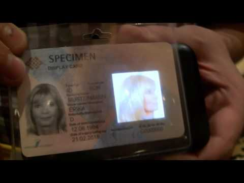 The Movie Total Recall Now a Reality: OLED 3D RFID ID Cards