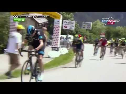 Chris Froome Attack