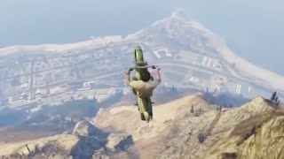 GTA V Unbelievable Crashes/Falls Funny Moments - Episode 02