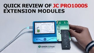A Quick Review of JC PRO1000S and Extensional Modules