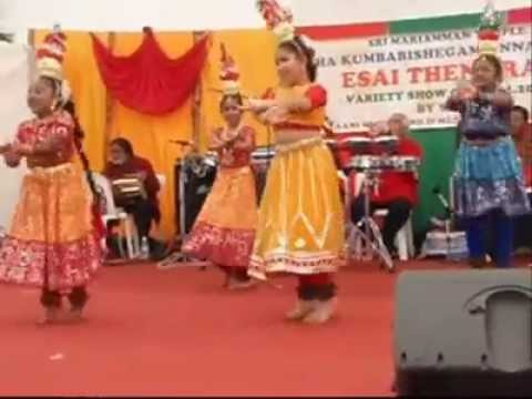 Adivanthen Karagam Dance video