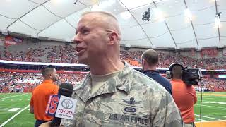 Military Appreciation Day at Syracuse