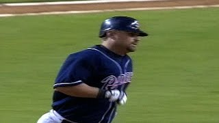 Nevin crushes a grand slam to center