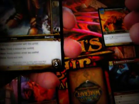 World of Warcraft TCG Brasil - Cartas de equipamentos.